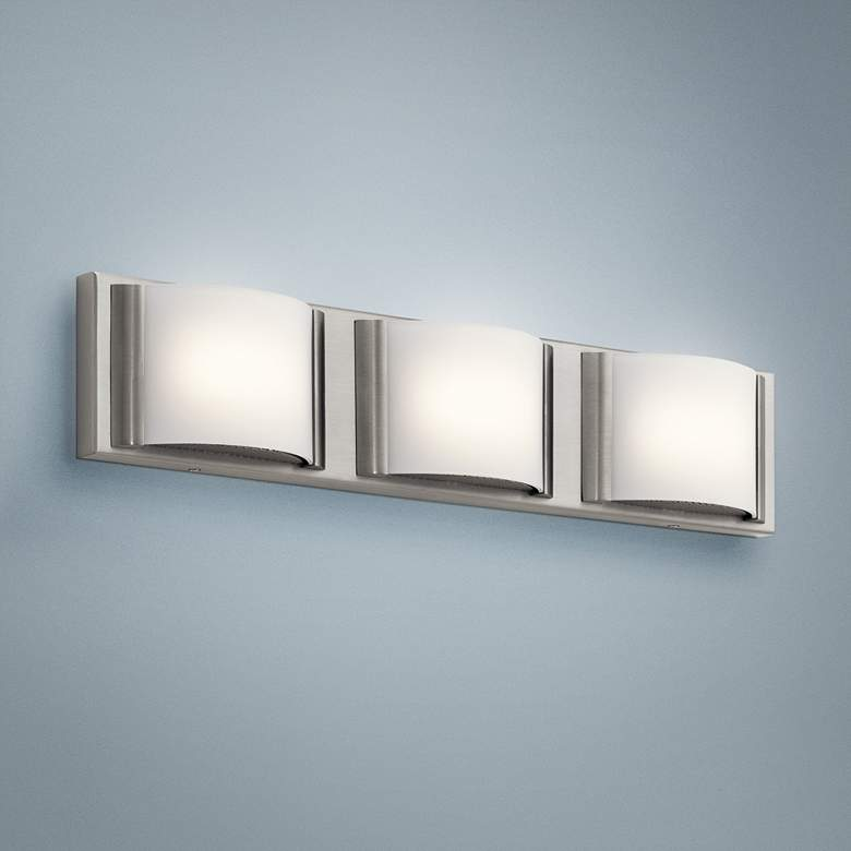"Elan Bretto 22 1/2"" Wide Brushed Nickel LED"