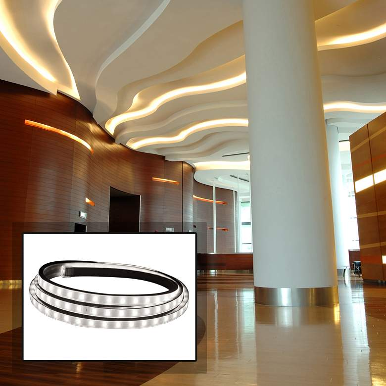 Hybrid 2 30-Foot Bright White LED Tape Light