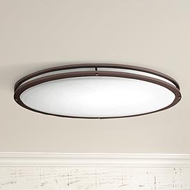 Bronze Oval 32 1 2 Wide 4707 Lumen Led Ceiling Light