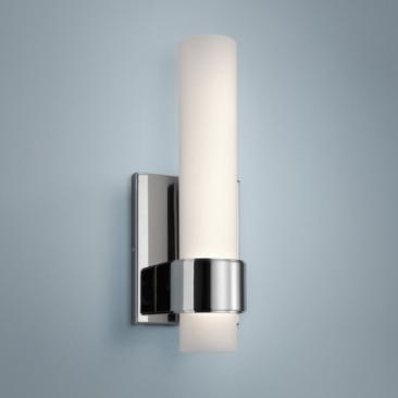 "Elan Izza™ 13"" High Chrome LED Wall Sconce"