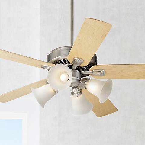 "52"" Windstar II™ Brushed Steel Finish Ceiling Fan"