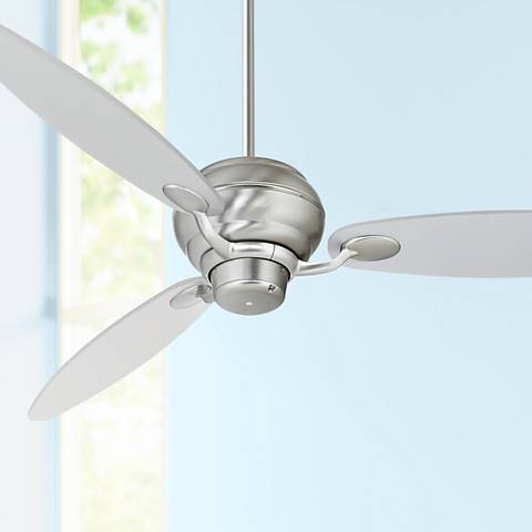 "60"" Spyder™ Brushed Steel Ceiling Fan"