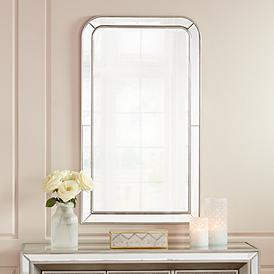 Finnley Arch Corner 26 X 45 Frameless Wall Mirror