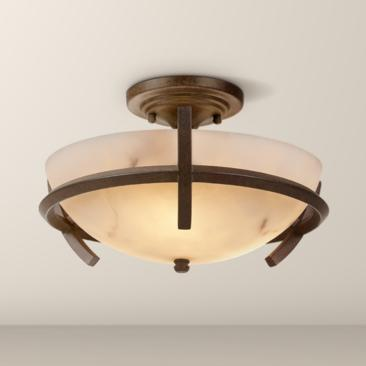 "Calavera Collection 14"" Wide Ceiling Light Fixture"