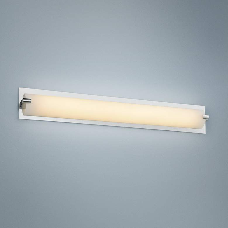 "Avenue Cermack St. 15 1/2""W Polished Chrome LED"