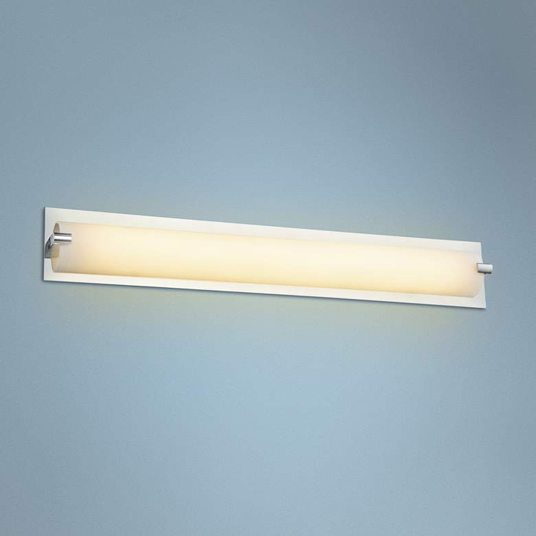 "Avenue Cermack St. 26"" Wide Polished Chrome LED"