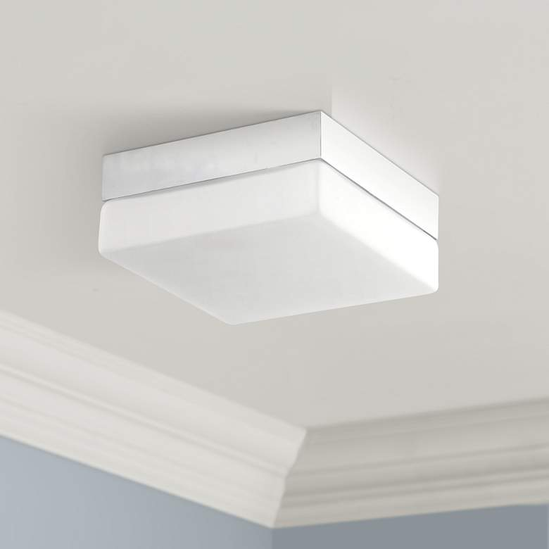 "Avenue Cermack St. 9"" Wide Chrome Square LED"