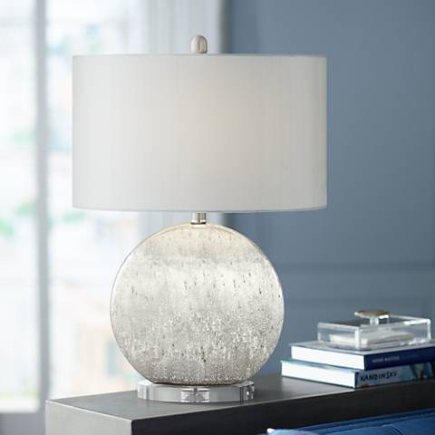 Possini Euro Barkley Sphere Table Lamp