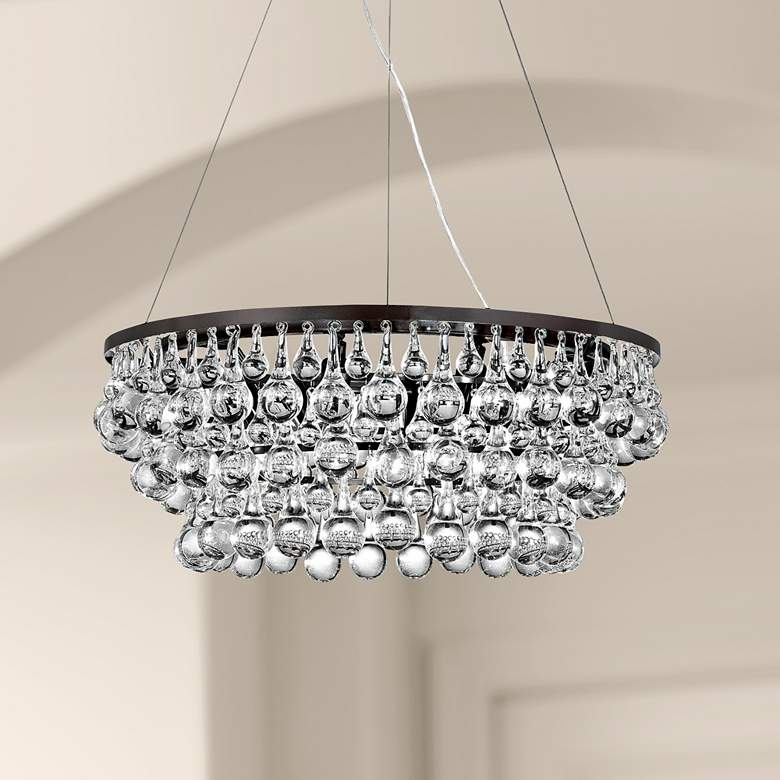 "Eurofase Canto 24 1/2"" Wide 8-Light Crystal Chandelier"