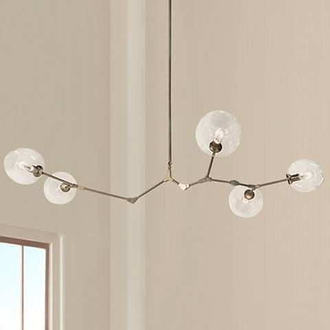 "Avenue Fairfax 66""W Dark Bronze Chandelier"