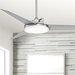 "52"" Cyber™ Brushed Nickel Ceiling Fan"
