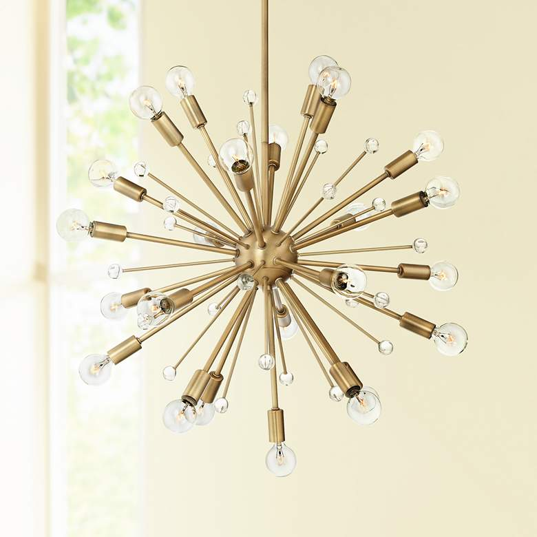 "Savoy House Galea 23"" Wide Warm Brass 24-Light"