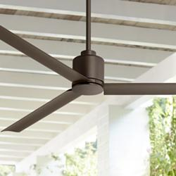 "60"" Status Oil Rubbed Bronze Damp Ceiling Fan"