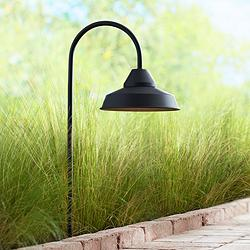 "Westley 23"" High Black LED Landscape Path Light"