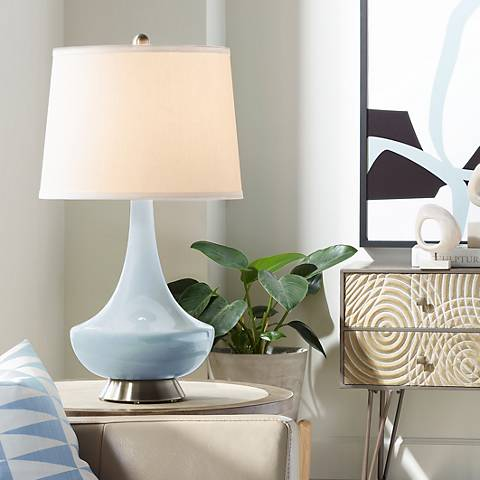 Take Five Gillan Glass Table Lamp
