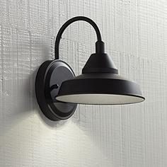 Westley 8 1 2 High Black Led Outdoor Wall Light