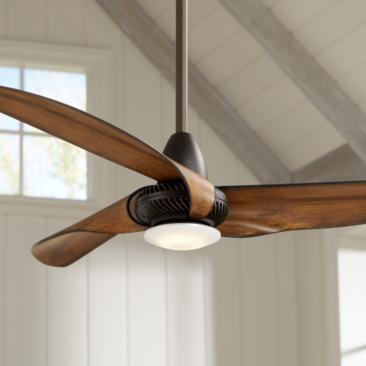 "56"" Sleuth™ Oil-Rubbed Bronze LED Ceiling Fan"