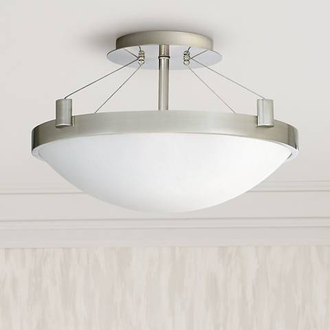 "Contemporary Suspension 17 1/4"" Wide Ceiling Light Fixture"