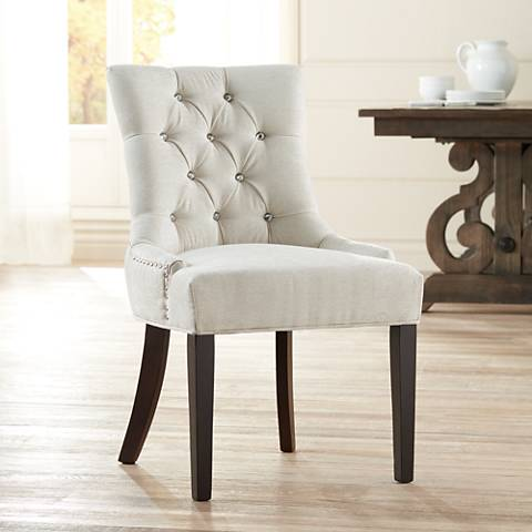Petra Tufted Upholstered Dining Chair