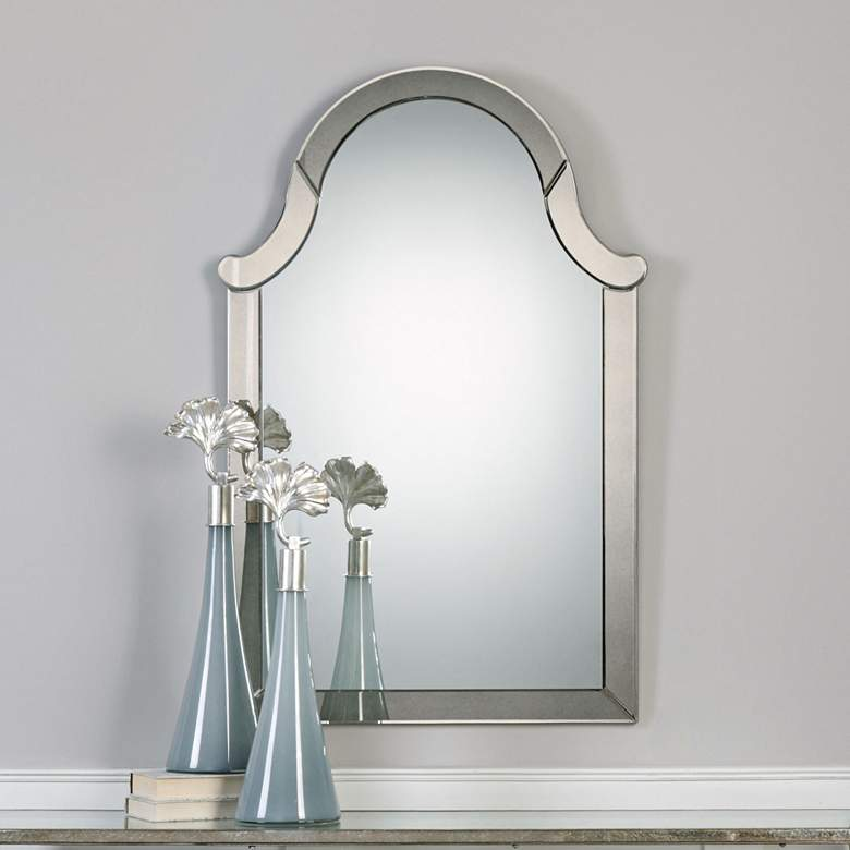 "Uttermost Gordana Hand-Beveled 30"" x 47"" Wall Mirror"