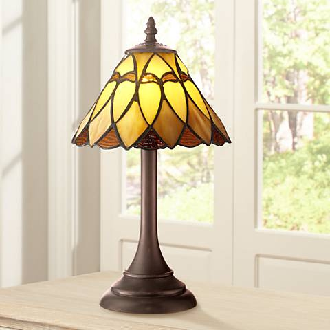 "Robert Louis Tiffany 14"" High Austin LED Accent Lamp"