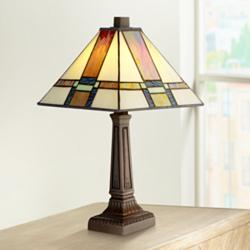 "Robert Louis 14 1/4"" high Tiffany Morris LED Accent Lamp"
