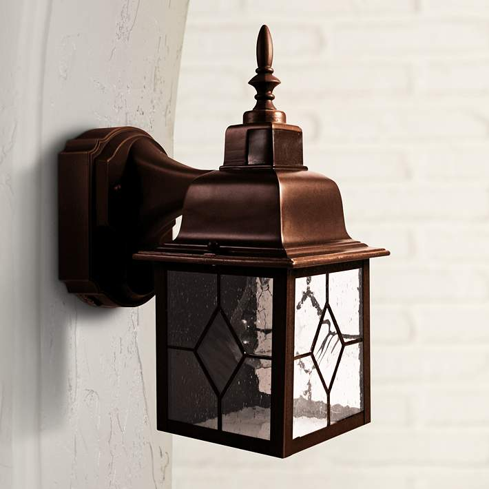Motion Activated Outdoor Wall Light