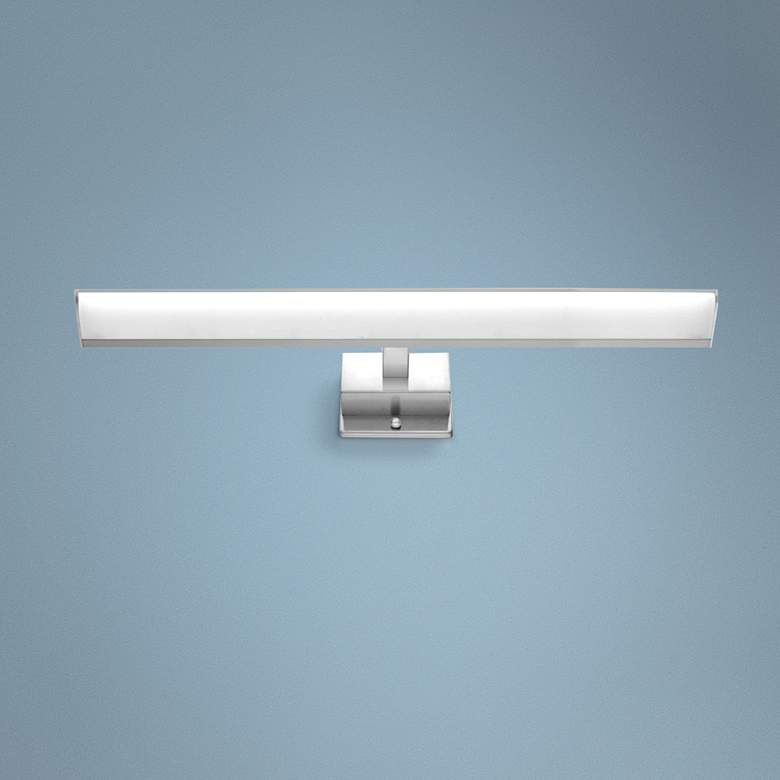 "Eglo Tabiano 23 3/4""W Matte Nickel 3-Light LED"
