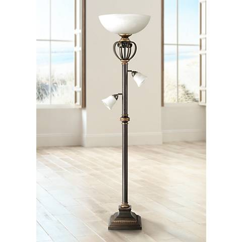 Calistoga Light Blaster™ Torchiere Floor Lamp