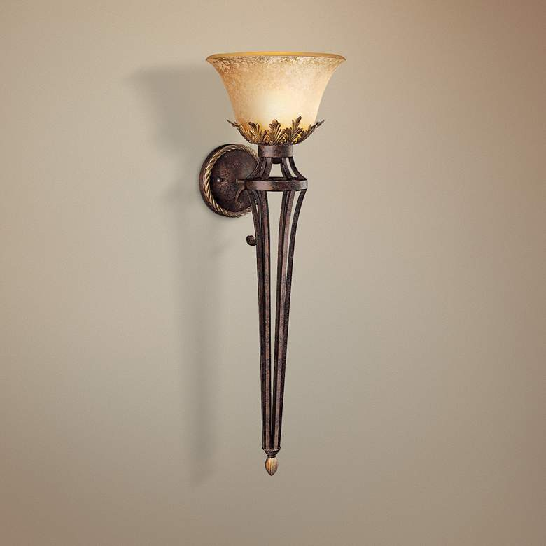 "Metropolitan Zaragoza 35"" High Wall Sconce"