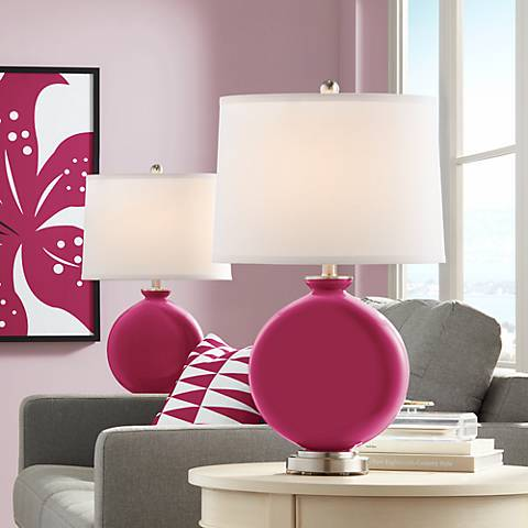 Vivacious Carrie Table Lamp Set of 2