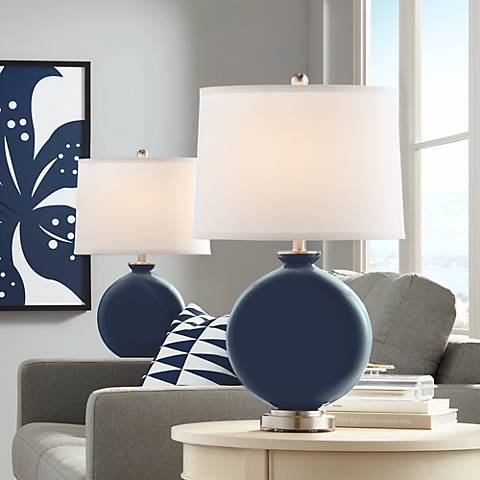 Naval Carrie Table Lamp Set of 2