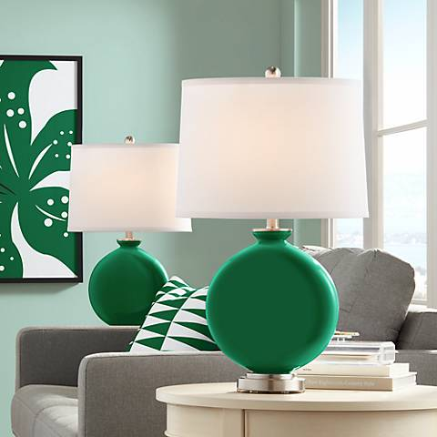 Greens Carrie Table Lamp Set of 2