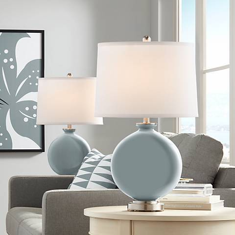 Uncertain Gray Carrie Table Lamp Set of 2