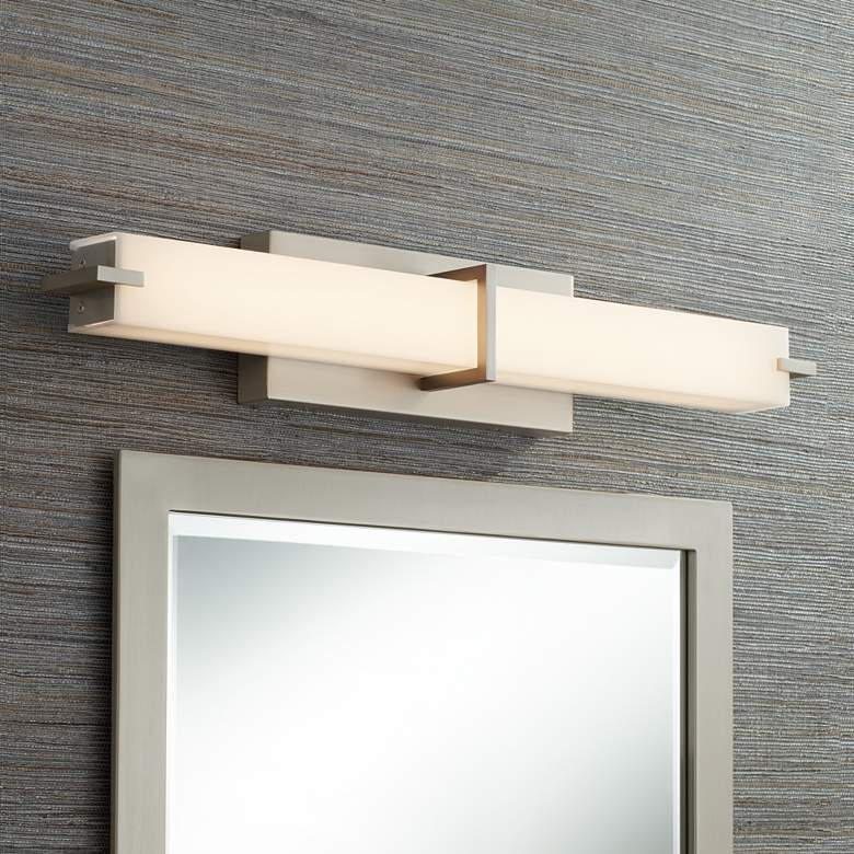 "Kichler Zel 25 3/4""W Brushed Nickel Linear LED"