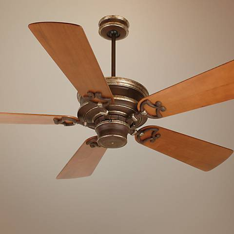 "52"" Craftmade Woodward Vintage Madera Ceiling Fan"
