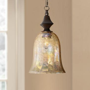 "Elba Collection 8 1/2"" Wide Mini Pendant Chandelier"