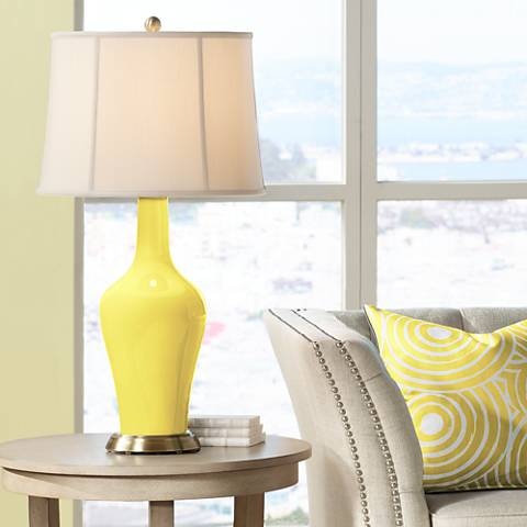 Lemon Twist Anya Table Lamp