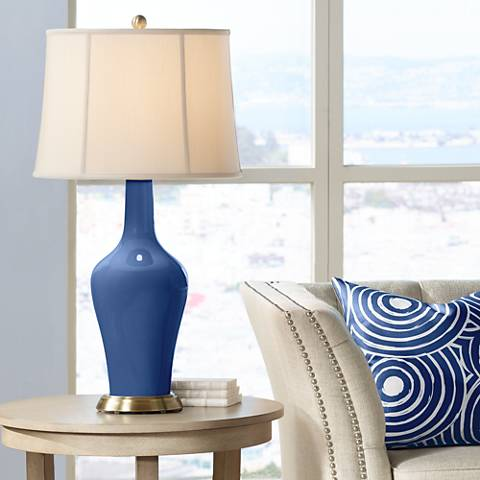 Monaco Blue Anya Table Lamp