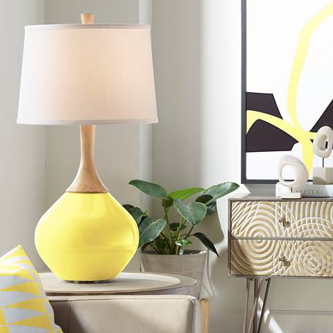 Lemon Twist Wexler Table Lamp