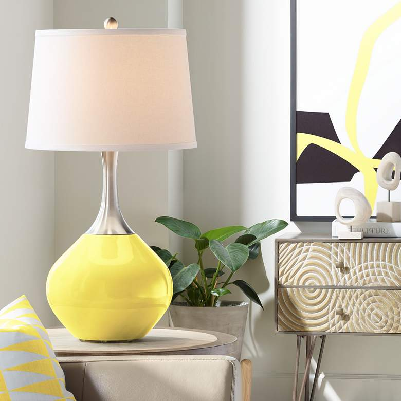Lemon Twist Spencer Table Lamp