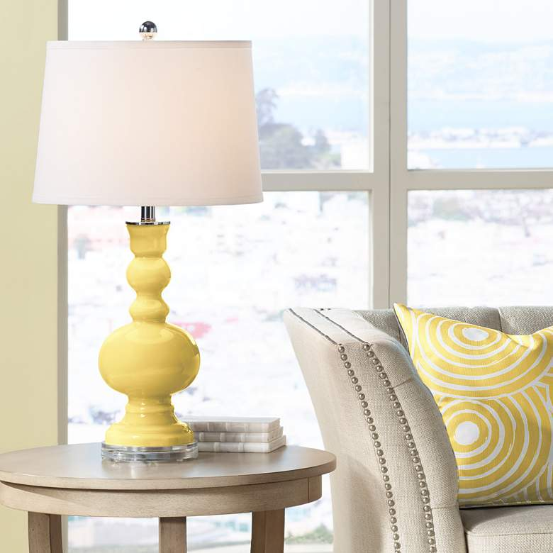 Daffodil Apothecary Table Lamp