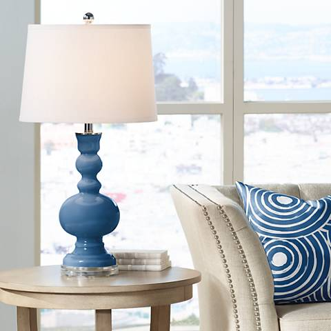 Regatta Blue Apothecary Table Lamp