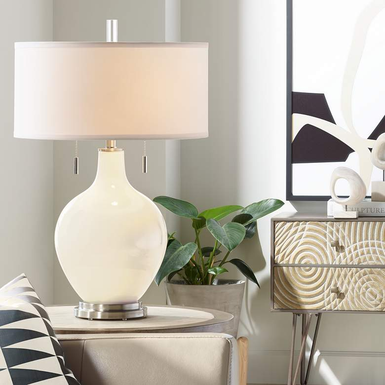 Steamed Milk Toby Table Lamp