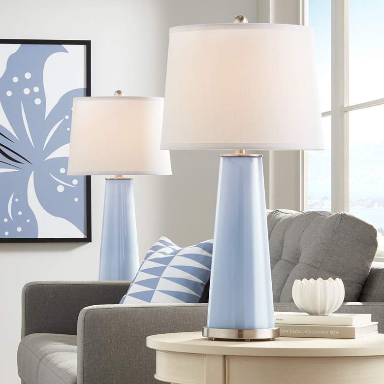 Blue Sky Leo Table Lamp Set of 2