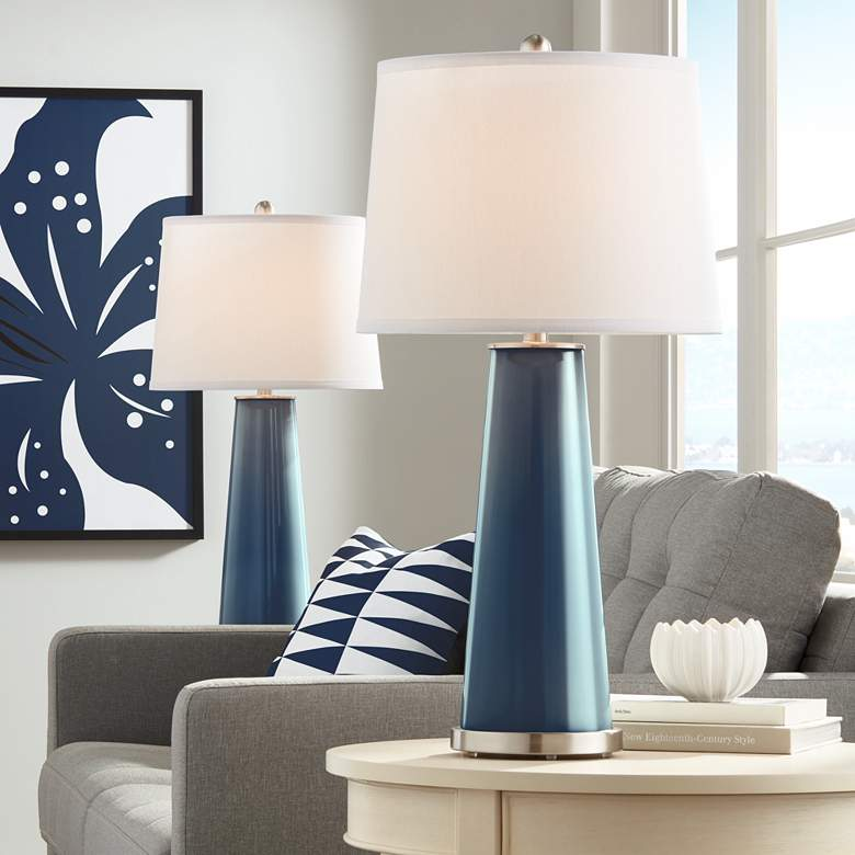Naval Leo Table Lamp Set of 2