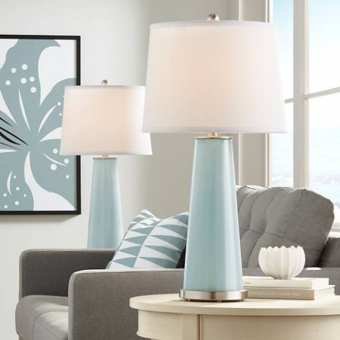 Aqua-Sphere Leo Table Lamp Set of 2