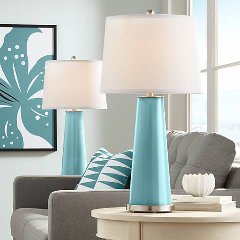 Reflecting Pool Leo Table Lamp Set of 2