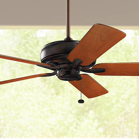 "52"" Kichler Terra Oil Brushed Bronze Ceiling Fan"
