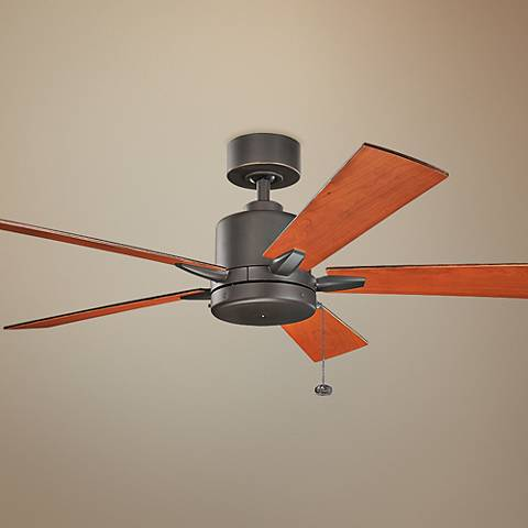 "52"" Bowen Pull Chain Energy Star Olde Bronze Ceiling Fan"